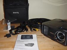BenQ MP622C Projector with all accessories and parts needed for use.