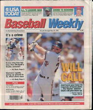 Will Clark Giants Fred McGriff Padres USA Today Baseball Weekly May 20-26 1992