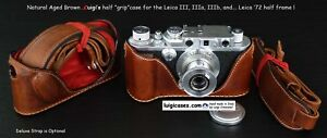 LUIGI's HALF CASE for LEICA III,IIIa,IIIb,AND WHY NOT,FOR THE ELUSIVE LEICA '72.