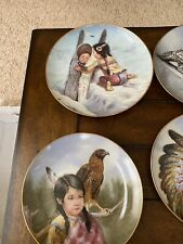 New ListingArtaffects Proud Young Spirits by Perillo Indian Collector Plates Complete Set!