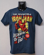 IRONMAN - HERO - AVENGER - THE INIZIO DI LA FINE - LOGOSHIRT GR. S
