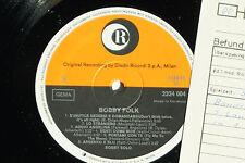 Bobby SOLO-Bobby folk-LP 1970 ricordi archivio-copy MINT