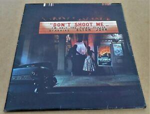 Elton John: Don't Shoot Me DJM DJLPH 427 LP Gatefold Booklet A2 B2