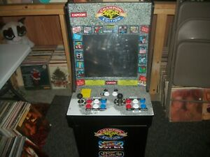 STREET FIGHTER II--RETRO ARCADE GAME MACHINE-3 GAMES IN 1 (LOCAL PICKUP ONLY!)