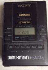 VINTAGE SONY Walkman TAPE RADIO CASSETTE PLAYER FM/AM WM-AF65