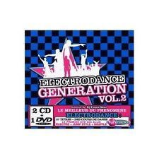 CD NEUF scellé - ELECTRODANCE GENERATION Vol. 2 /Coffret Digipack 2 CD+1DVD -C61