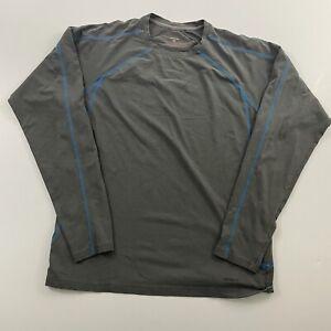 Patagonia Sandstone Crew Long Sleeve Gray Base layer Shirt Men's Size Medium