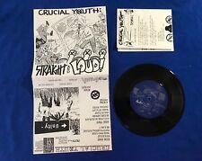 "Crucial Youth - 7"" - Floorpunch, Bold, SXE, Chokehold, HC, SXE, YOT, NJHC, Judge"