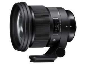 Sigma 105mm F1.4  DG HSM Art Lens for Nikon *Free Shipping From Japan *