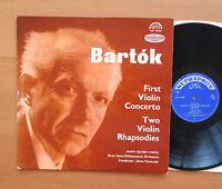 SUA 10466 Bartok Violin Concerto 1 Rhapsodies Andre Gertler Supraphon Mono NM/EX
