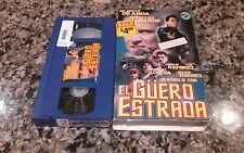 EL GUERO ESTRADA VHS! CONDOR PICTURES 1996 SPANISH ACTION! GILBERTO DE ANDA!