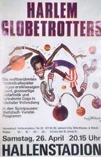Original Plakat - Harlem Globetrotters - Hallenstadion Zürich