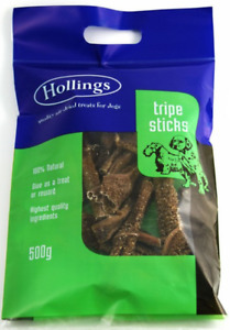 Hollings Natural Tripe Sticks Dog Treats - 500g