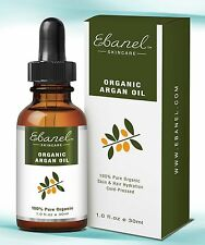30ml Organic Argan Oil 100% Pure Organic Cold-pressed - For Hair Skin Nails