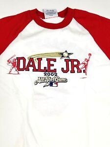 NWOT NASCAR MLB #8 Dale JR All Star Game 2002 Youth Large 14-16 Shirt