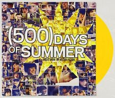 500 DAYS OF SUMMER Soundtrack VINYL Record YELLOW Limited Edition BRAND NEW
