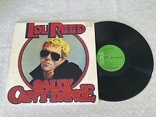 LOU REED SALLY CAN'T DANCE RARE 1974 AUSTRALIAN GREEN RCA RELEASE LP