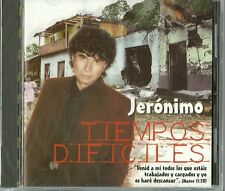 Tiempos Dificiles Jeronimo Latin Music CD New