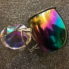 Stainless Steel Oil Slick Rainbow Holographic Iridescent Moscow Mule 20oz Mug