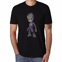 I Groot Baby Printed Men's Funny T-shirts Tops Cotton Short Sleeve Summer tee