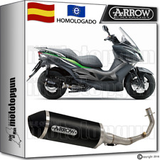ARROW TUBO DE ESCAPE COMPLETO URBAN ALUMINIO DARK HOM KAWASAKI J-300 2016 16