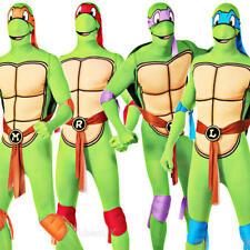 Teenage Mutant Ninja Turtle Mens Fancy Dress Superhero TMNT Adult Costume