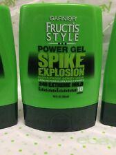 LOT OF 6 Garnier Fructis Style Spike Explosion Power Gel, 9 Fluid Ounce Each NEW