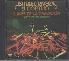 First Pressing FANIA Mega RARE CD Ismael Rivera y Cortijo LLAVES DE LA TRADICION
