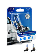 Philips HB3 WhiteVision 3700K Bombilla Juego de 2 9005whvb1