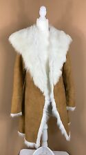 UGG Australia Toscana Shearling Coat Chestnut Medium Twin Face Lamb Fur