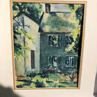 Fine impressionistic 40-ties painting by listed Artist
