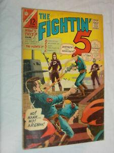 Fightin' Five 5 Comics # 40 Charlton 1st app. Peacemaker TV tie-in