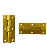 Mini Brass Hinge Hinges x 1pr 25mm (A205)