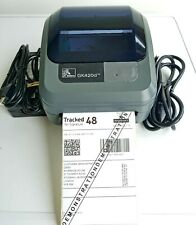 Zebra GK420d Thermal Label Printer with Peeler  Charger and USB Cable 332
