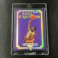 KOBE BRYANT 1998 FLEER TRADITION #3 GREAT EXPECTATIONS HOLOFOIL INSERT MAMBA NBA