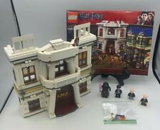 LEGO Harry Potter Gringotts Bank from 10217 Diagon Alley & minifigures Complete!