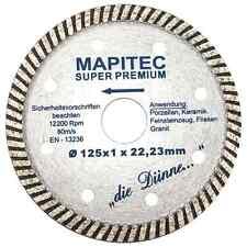 Ø125mm TURBO Diamantscheibe Diamantscheiben Diamant Trennscheiben Diascheiben