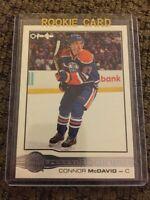 15/16 O-Pee-Chee Glossy Rookie #R-1 Connor Mcdavid Edmonton Oilers