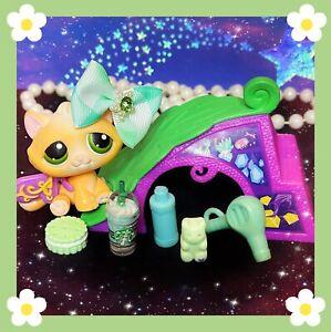 ❤️Authentic Littlest Pet Shop LPS #273 Buttercream Tabby Kitten Cat ULTRA RARE❤️
