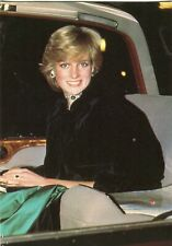 ~~~ ORGINAL~~~ POSTKARTE ~~~ aus England Lady Diana Prinzessin von Wales