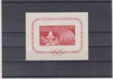 Postfrische Briefmarken mit Motiven von den Olympischen Spielen aus Rumänien