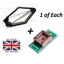 PLCC 32 a DIP32 USB Programmatore Universale Adattatore IC Tester Presa + ESTRATTORE