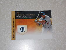 BASEBALL CARD 2012 GOLDEN MOMENTS MIGUEL CABRERA INSERT GM-40