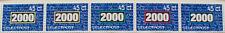Stadspost Zaanstad 1999 - Strip Millenniumzegels (1)