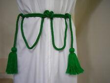 Cincture Rope for Altar Server, Acolyte, Deacon, Priest. Len 340cm, tassels 12cm