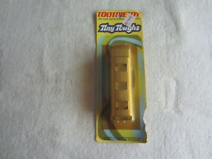 1976 Tootsie Toy Tiny Toughs:  Greyhound Bus NIP (Damaged and Yellowing)