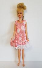 FRANCIE DOLL CLOTHES Retro Dress, Purse & Jewelry HM Fashion Twiggy NO DOLL d4e