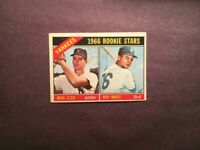 1966 TOPPS ROOKIE ROY WHITE NEW YORK YANKEES-EX NO CREASES-FREE SHIPPING