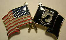 "POW/MIA-United States Flag Pin""- Lapel pin,Tie Tack,Hat pin 1 1/4"" T x  3/4""  W"