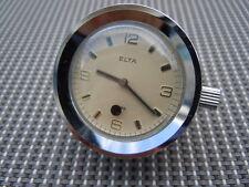 Montre Elta mouvement mécanique 15 rubis montre de bureau vers 1970